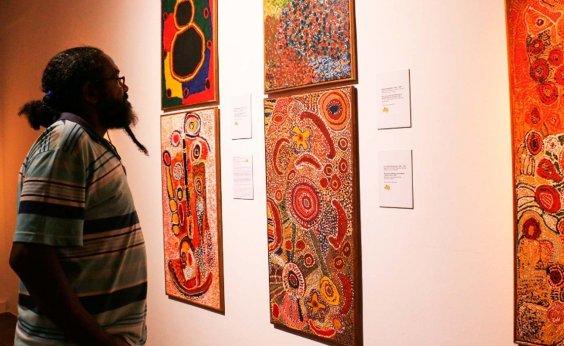 [Caixa Cultural abre exposição de artistas aborígenes australianos ]