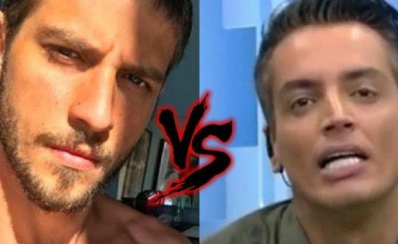 [Leo Dias revela que sofreu ameaça de Chay Suede: 'Disse que queria enfiar a faca na minha barriga']