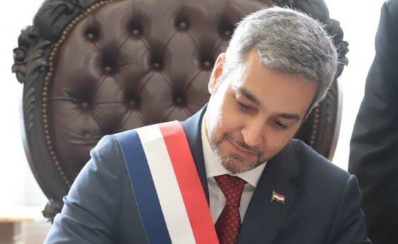 [Mario Abdo Benítez toma posse como presidente do Paraguai]