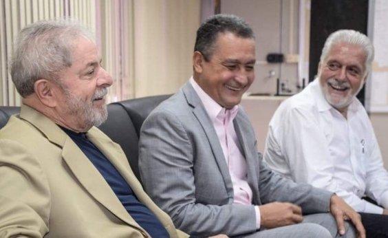 [Em registro de candidatura de Lula, Rui pede visita de Haddad à Bahia]