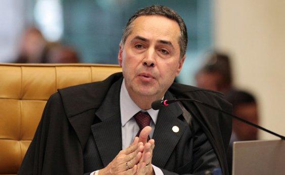 [Barroso afasta hipótese de virar voz do TSE devido à discrição de Rosa Weber]