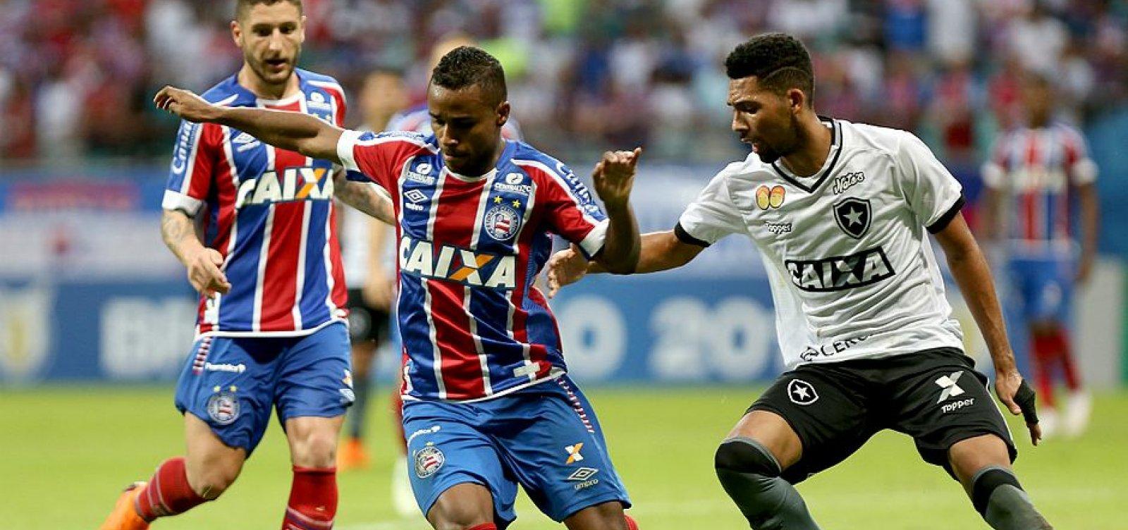 [Conmebol divulga datas dos jogos entre Bahia e Botafogo na Sul-Americana]
