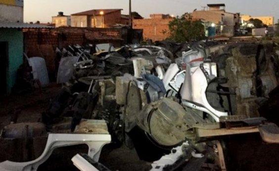 [Polícia Civil prende quatro suspeitos de roubo e desmanche de veículos em Salvador]