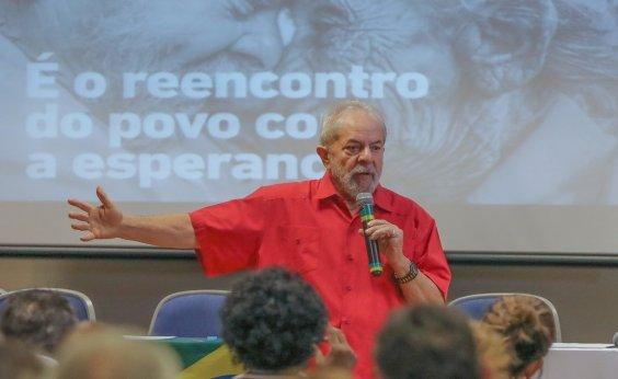 [Oposição entra com pedido para tirar Lula de propagandas do PT na Bahia]