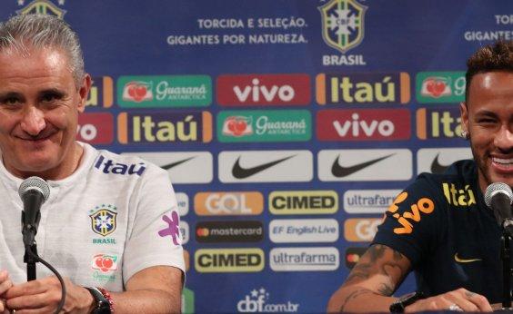 3e683e79ec Tite escolhe Neymar como capitão e encerra rodízio   É um líder técnico