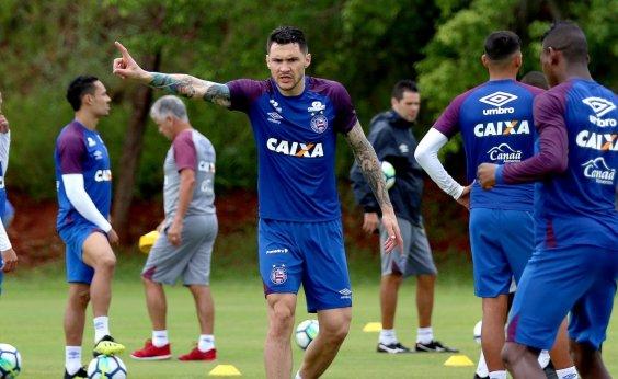 d09c181af5 Bahia encerra preparação para enfrentar o São Paulo no Morumbi