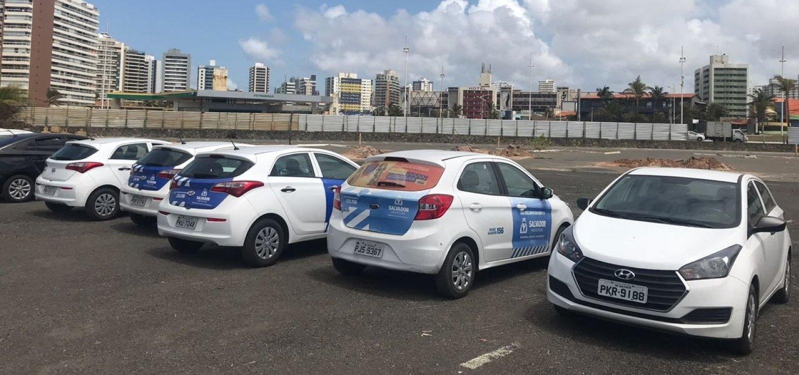 [Carros flagrados em evento de Zé Ronaldo pertencem a empresa contratada pela prefeitura]