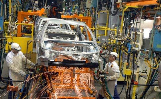 [Produção industrial da Bahia cresce 1% em julho]