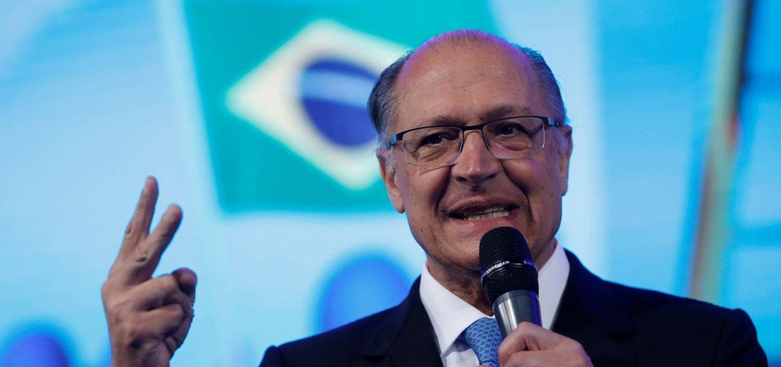 [ Alckmin espera conquistar até 30% dos eleitores de Bolsonaro]