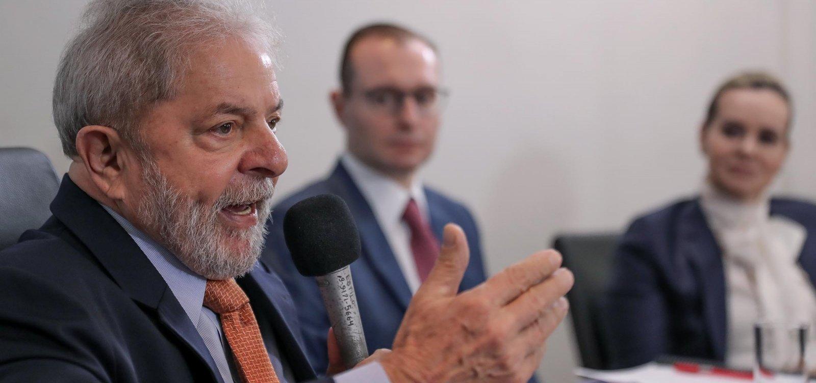 [Defesa pede ao TSE que Lula possa gravar vídeos em apoio a candidaturas do PT]