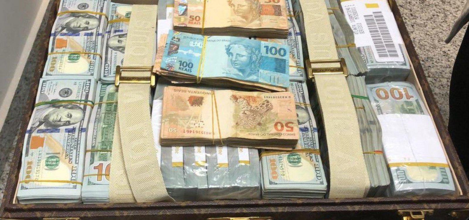 [PF apreende dólares com delegação da Guiné Equatorial]