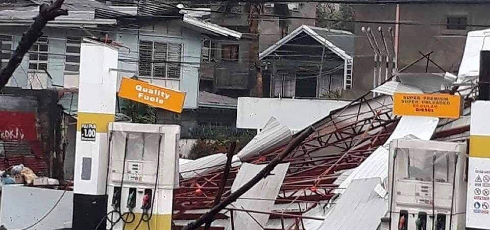 [Passagem do tufão Mangkhut deixa dezenas de mortos nas Filipinas]