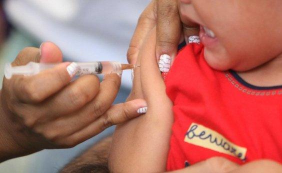 [ Campanha de vacinação contra poliomielite e sarampo é prorrogada até sexta-feira]