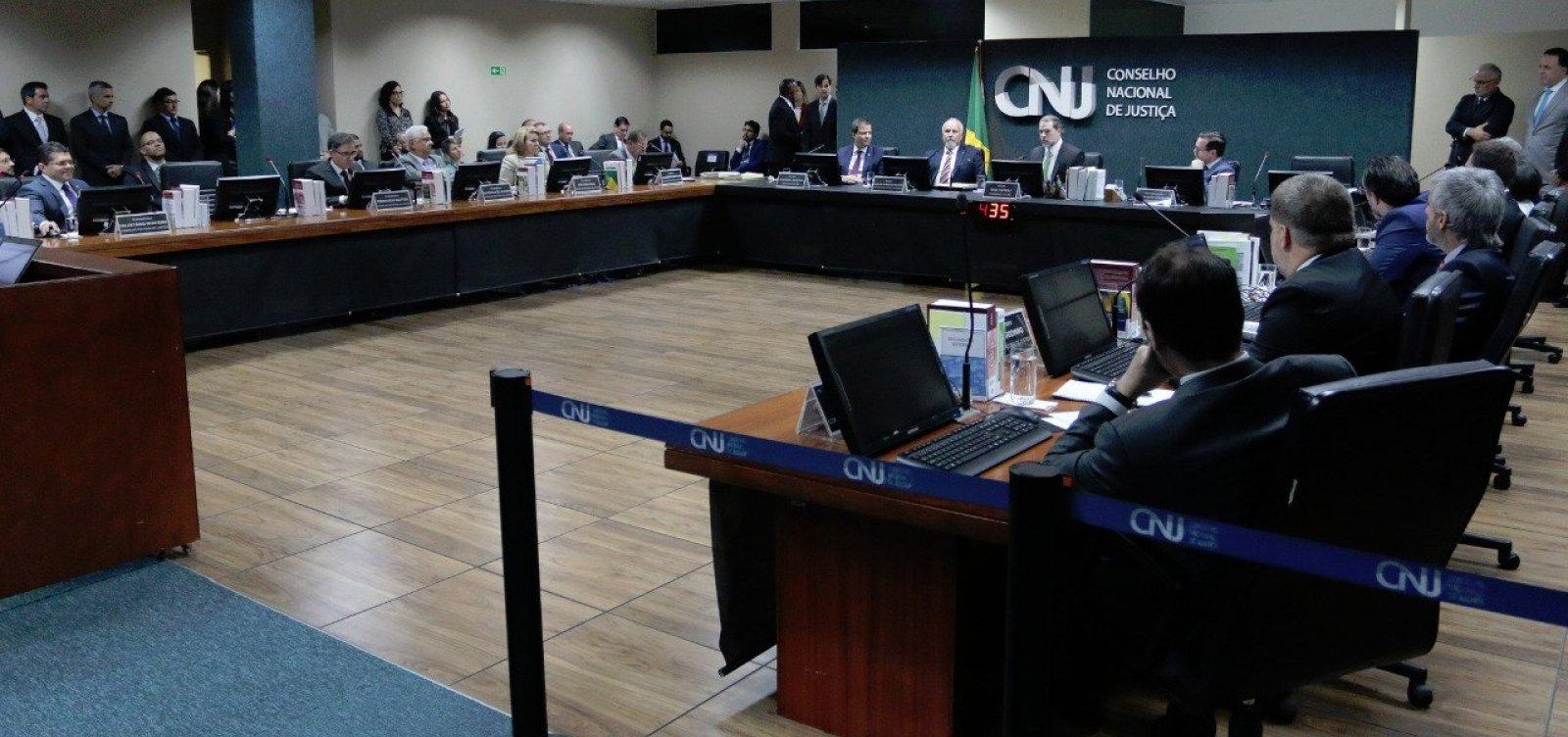 [CNJ suspende nomeação de novos desembargadores para o TJ-BA]