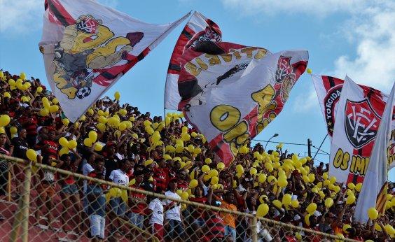 [Vitória mantém promoção com ingressos a R$ 10 para enfrentar o Botafogo]