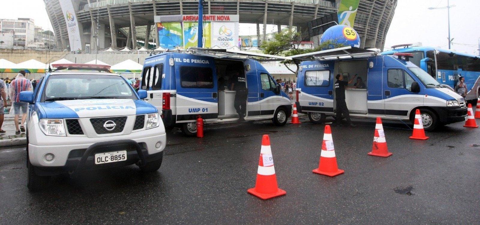 [Segurança para Copa América na Fonte Nova vai contar com 1,2 mil policiais]