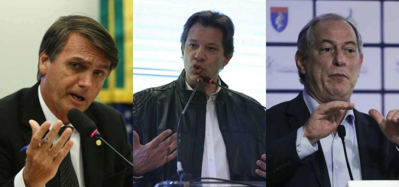 [Datafolha: Bolsonaro chega a 28% e Haddad sobe para 16%; Ciro lidera no 2º turno]