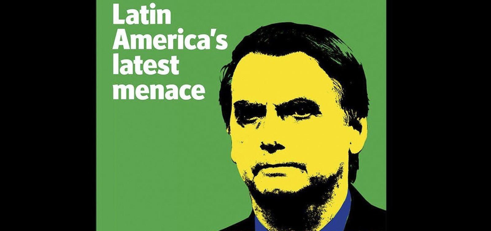 [Bolsonaro é a 'mais recente ameaça na América Latina', diz The Economist]