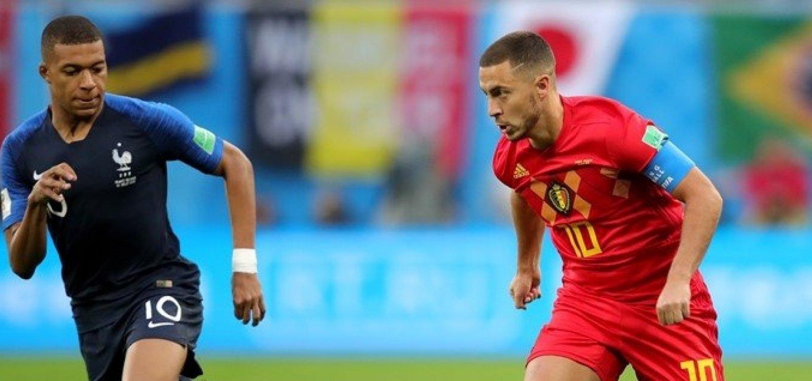 [Bélgica e França dividem liderança no ranking da Fifa]