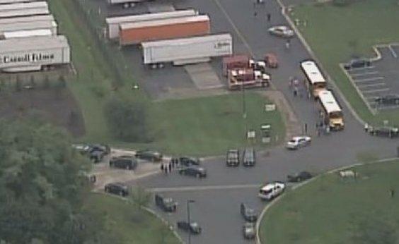 [Tiroteio deixa três mortos no subúrbio de Maryland, nos EUA]