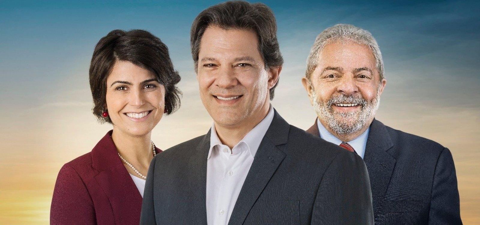 [MPE acusa frase 'Haddad é Lula' de confundir eleitor]
