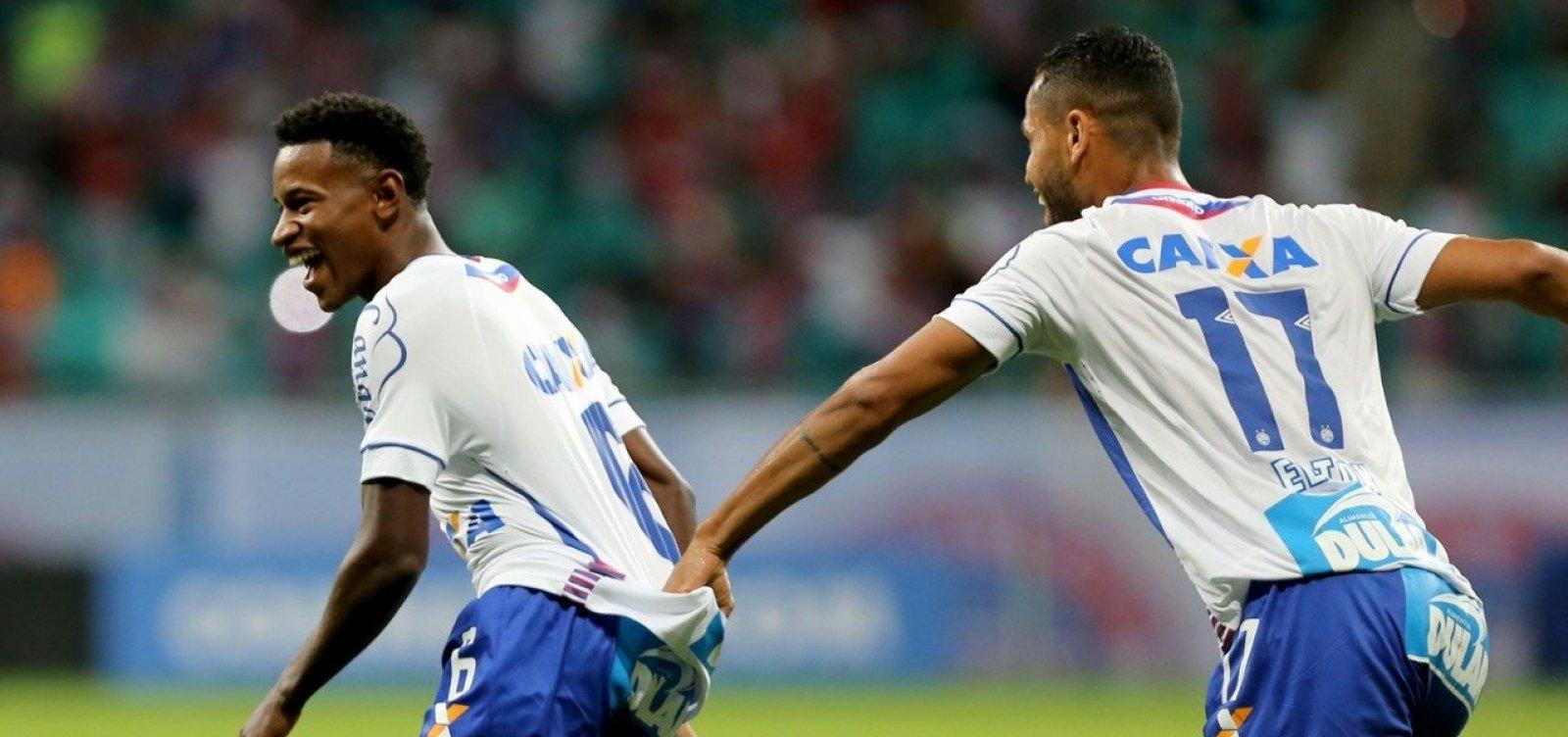 [Bahia vence o Botafogo com um a menos e tem vantagem na Sul-Americana]