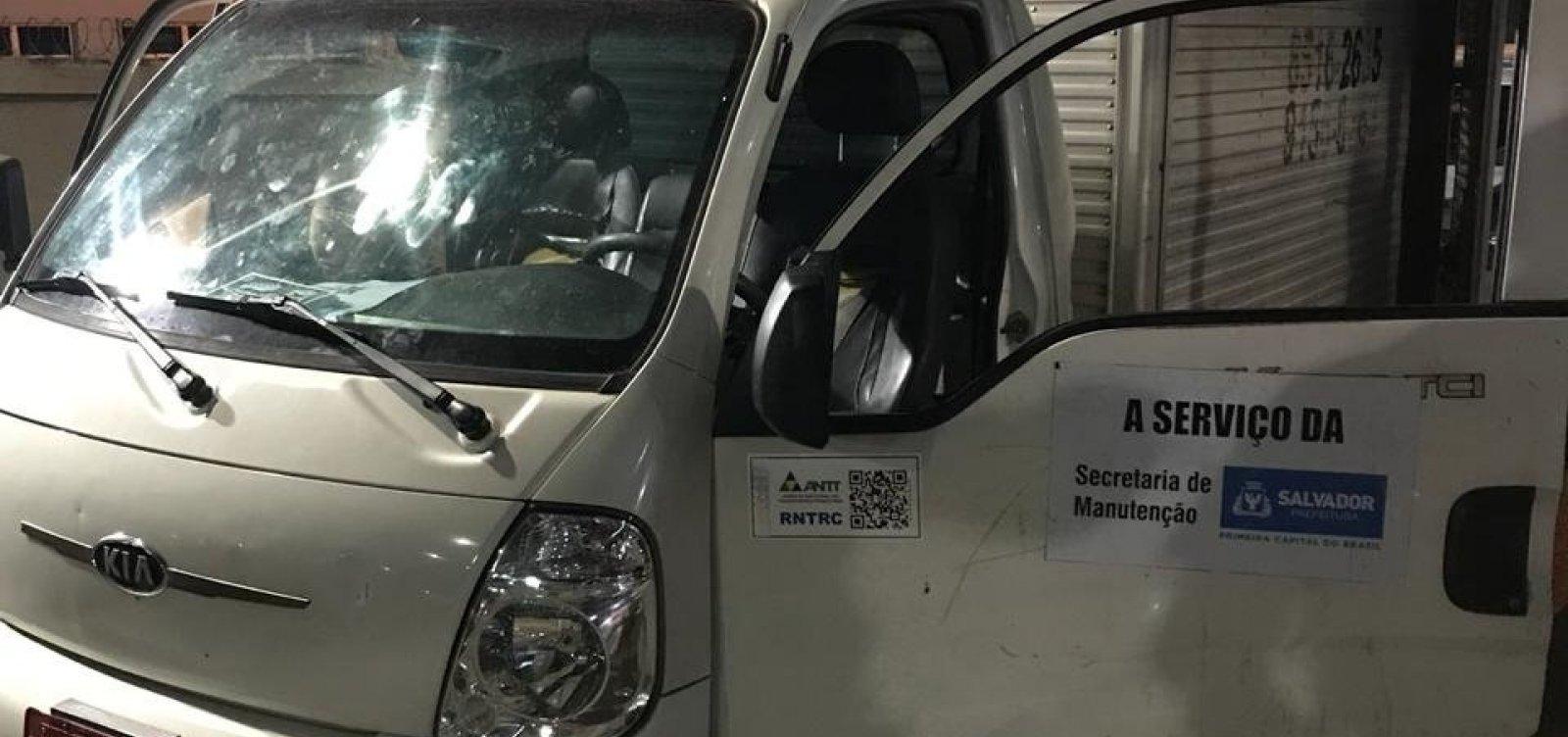 [Prefeitura nega que caminhão apreendido com maconha seja do município]
