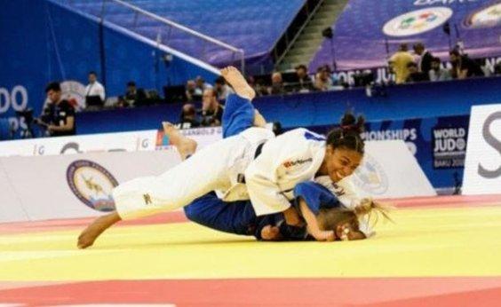 [Érika Miranda conquista medalha para o Brasil em Mundial de Judô]