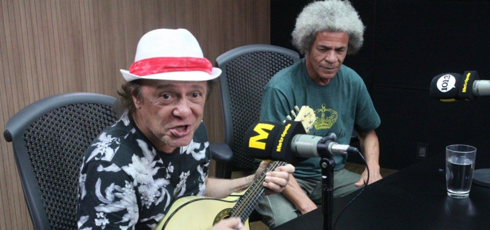 [Armandinho revela ter sido agredido por tocar Hino do Bahia: 'Tive epicondilite lateral']