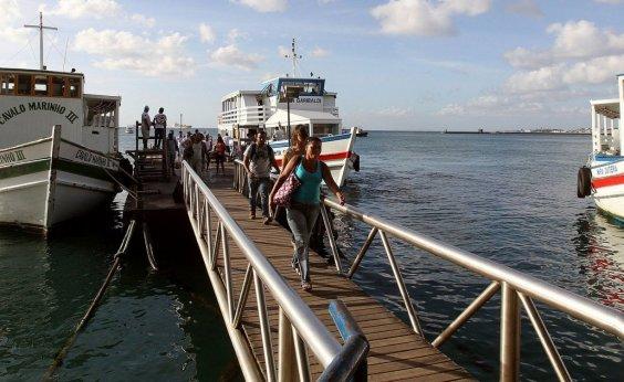 [Travessia Salvador-Mar Grande encerra mais cedo hoje por causa de maré baixa]