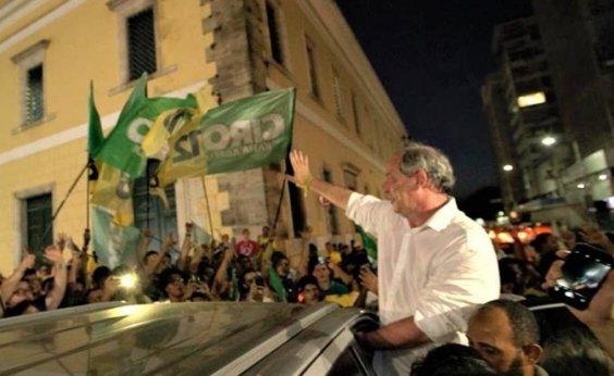 [Em Salvador, Ciro condena 'extremismos' e prega união do país ]