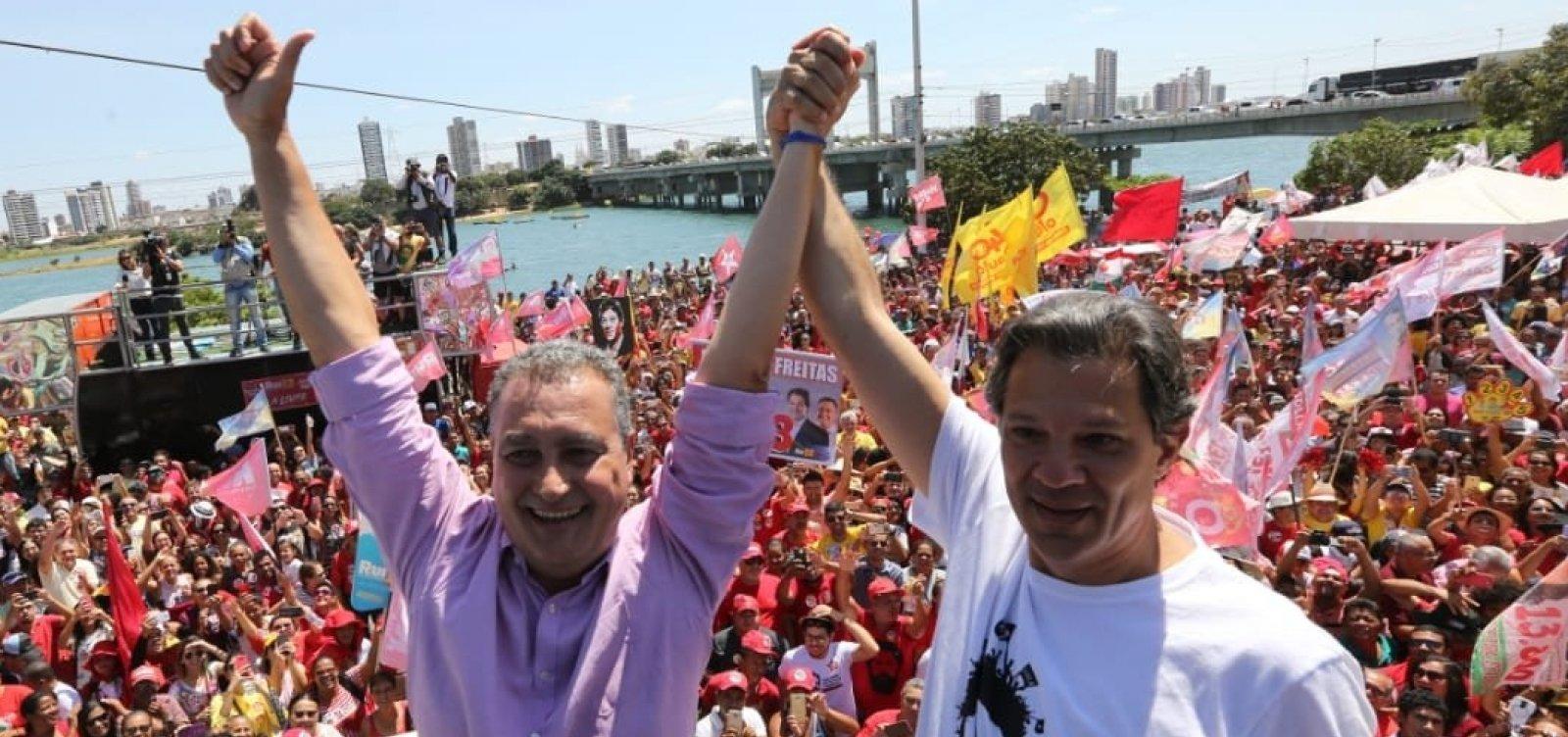 [Em Juazeiro, Haddad promete 'intensificar' recuperação das nascentes do Rio São Francisco ]