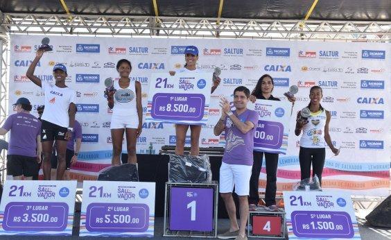 [Maratona de Salvador garante R$ 163 mil em premiações]