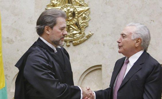 [Temer transfere Presidência para Toffoli e viaja para Assembleia da ONU]