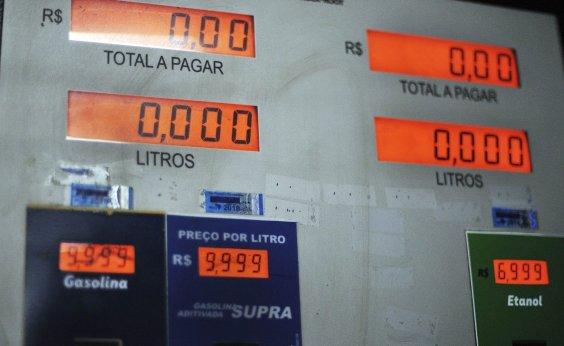 [Preço médio da gasolina bate valor registrado na greve dos caminhoneiros ]