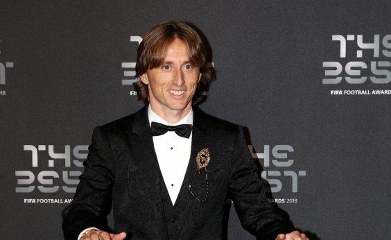 [Modric é eleito melhor jogador do mundo pela Fifa]