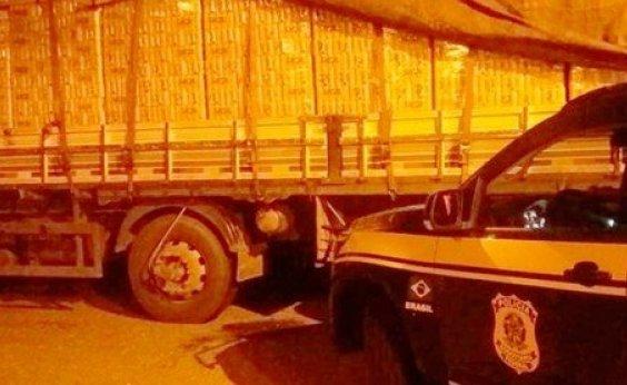 [Dois homens são presos com 13 mil litros de cerveja e 400 kg de carne no interior da Bahia]