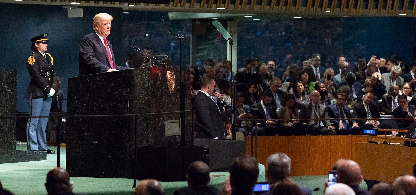 [Trump ataca Irã e Venezuela em discurso na Assembleia Geral da ONU]