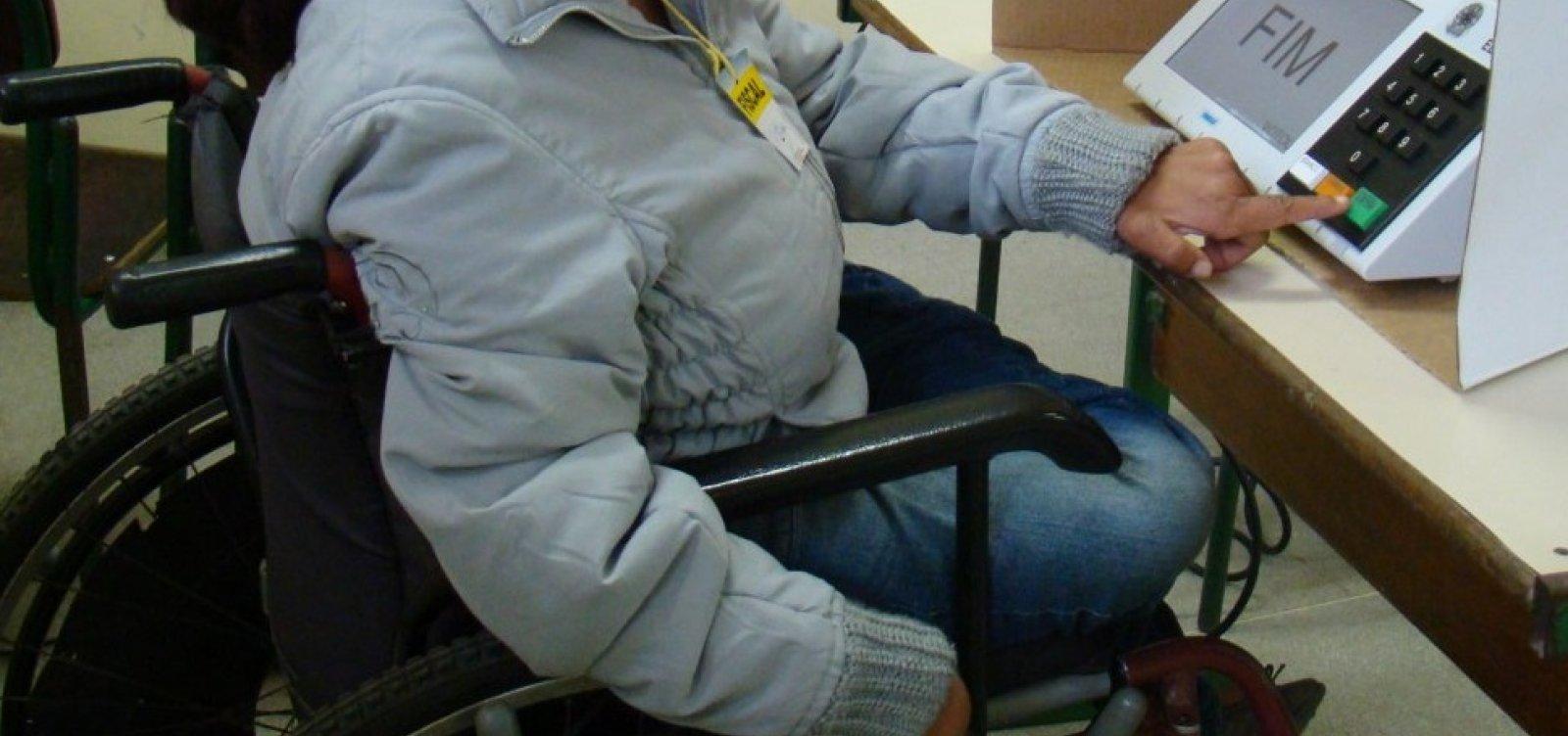 [Número de eleitores com deficiência na Bahia é três vezes maior em 2018]