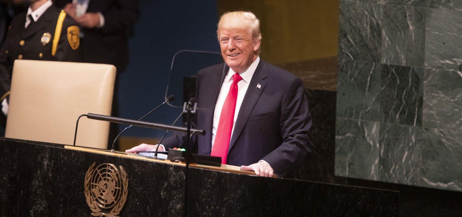 [Trump diz que EUA vão garantir que Irã não tenha bomba nuclear]