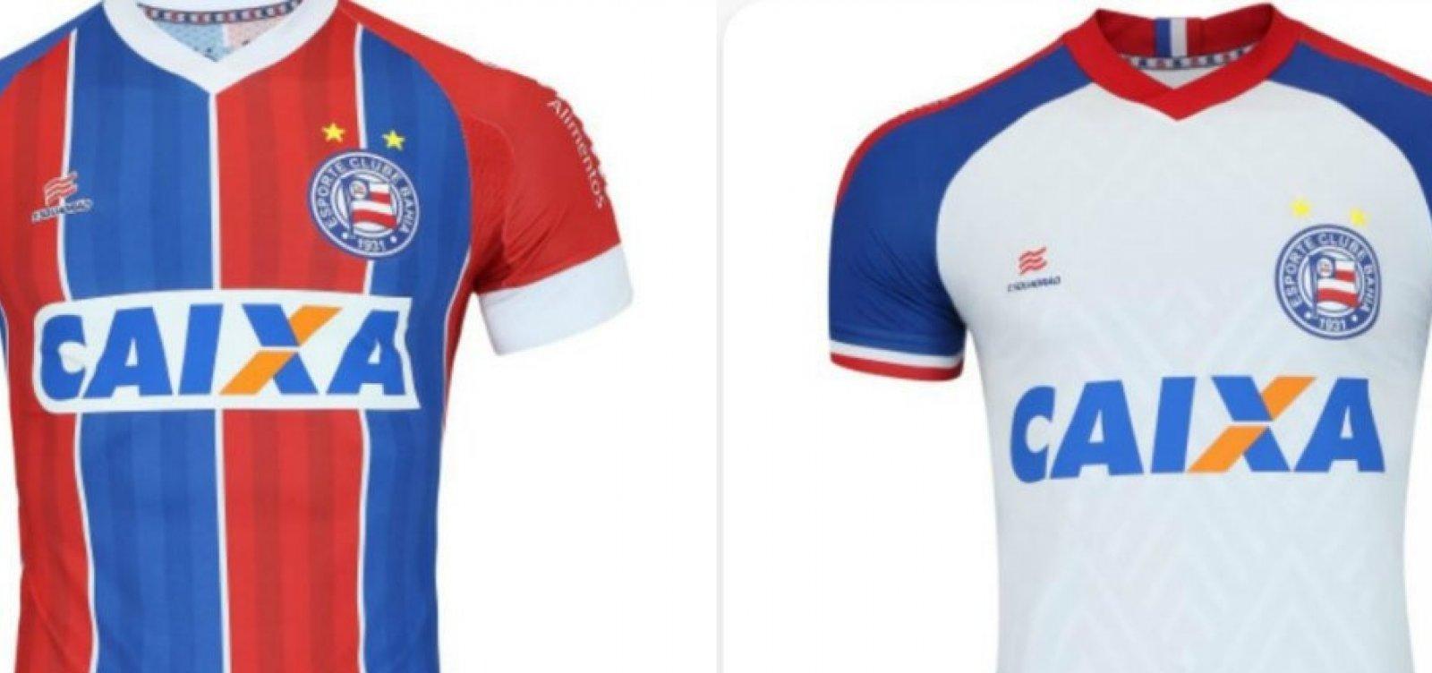 [Loja esportiva vaza novos uniformes do Bahia; veja]