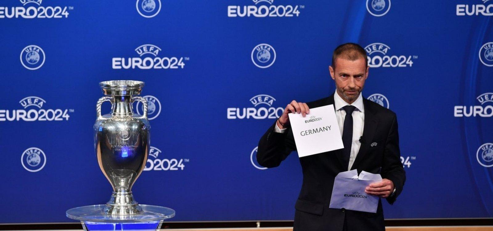 [Alemanha é escolhida como sede da Eurocopa 2024]