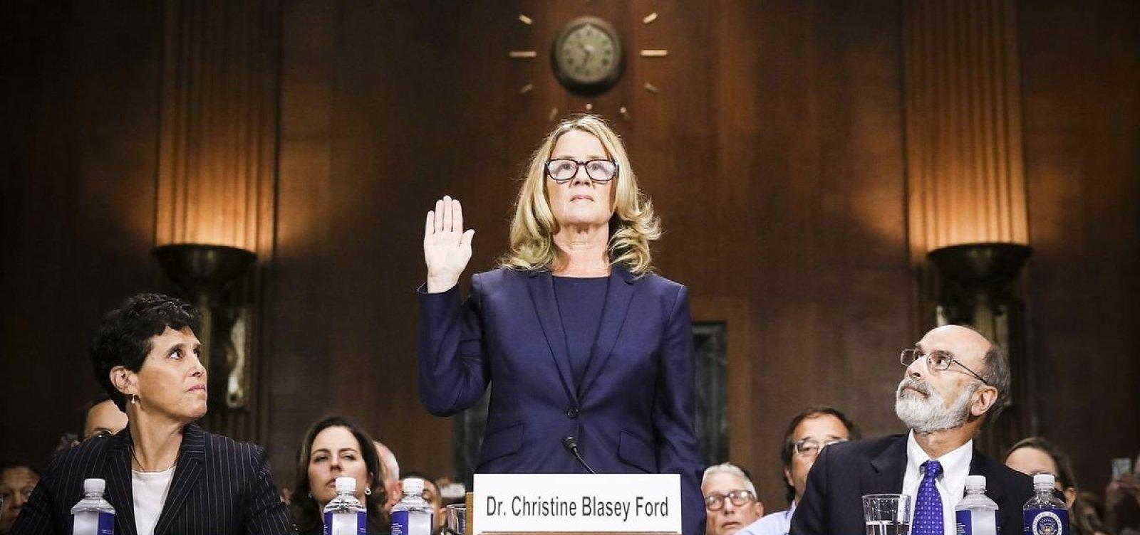 [Professora relata no Senado dos EUA assédio de indicado à Suprema Corte; juiz nega]