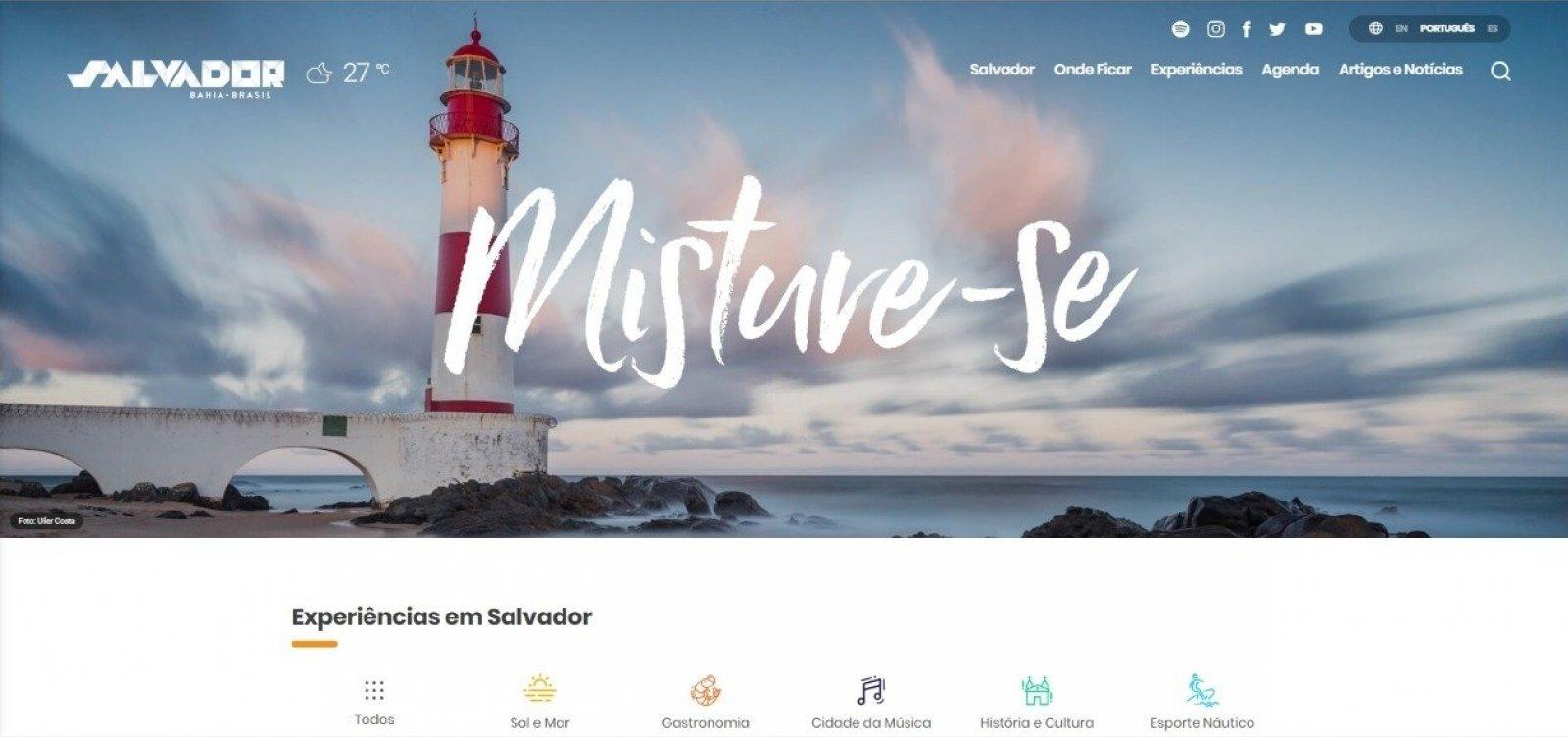 [Prefeitura de Salvador lança site com mais de 200 dicas turísticas]