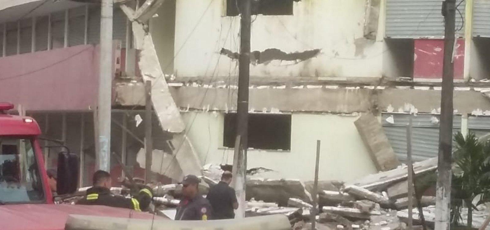 [Prédio que abrigaria shopping em Itabuna terá que ser demolido, segundo perícia]