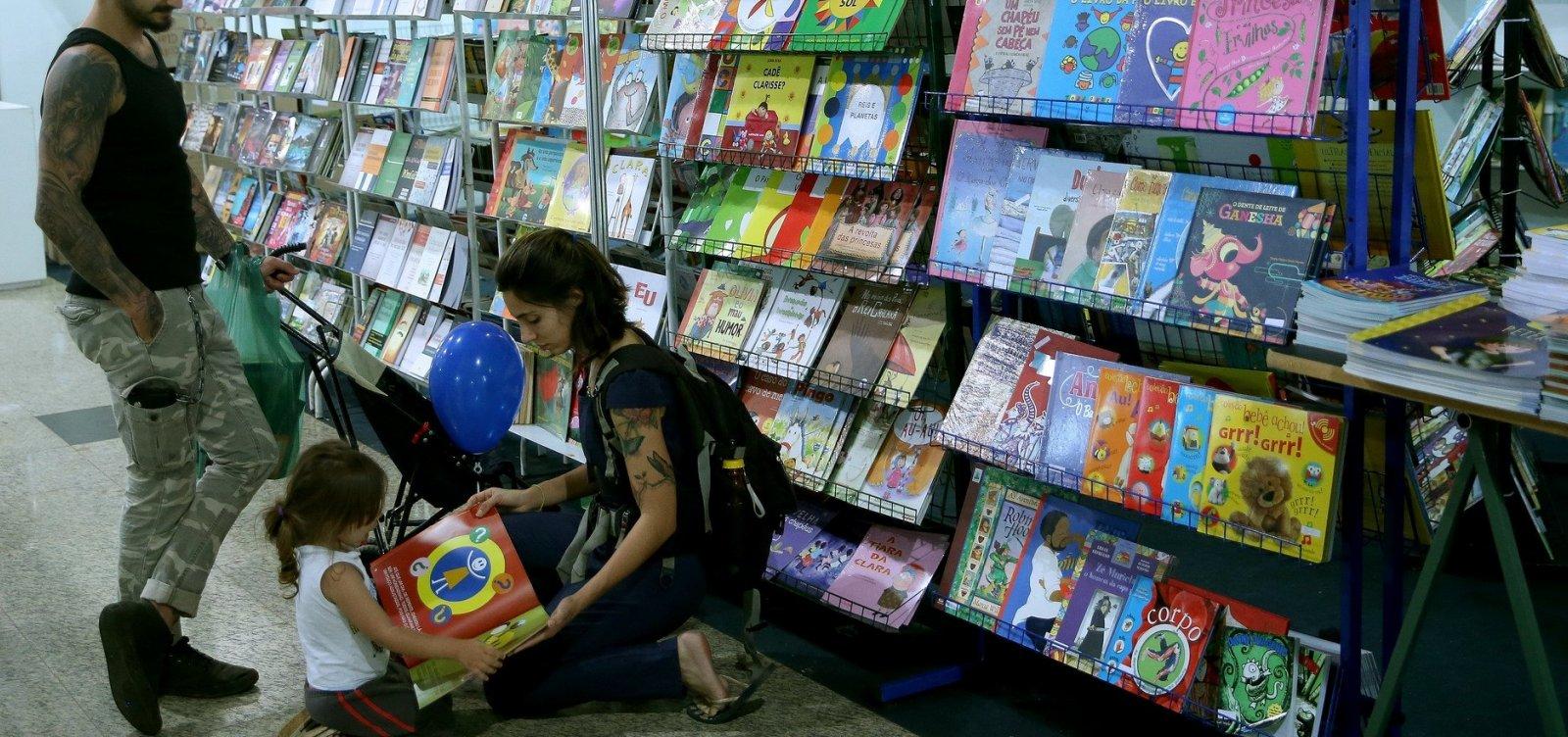 [Salvador sedia primeira Feira do Livro Infantil em outubro]