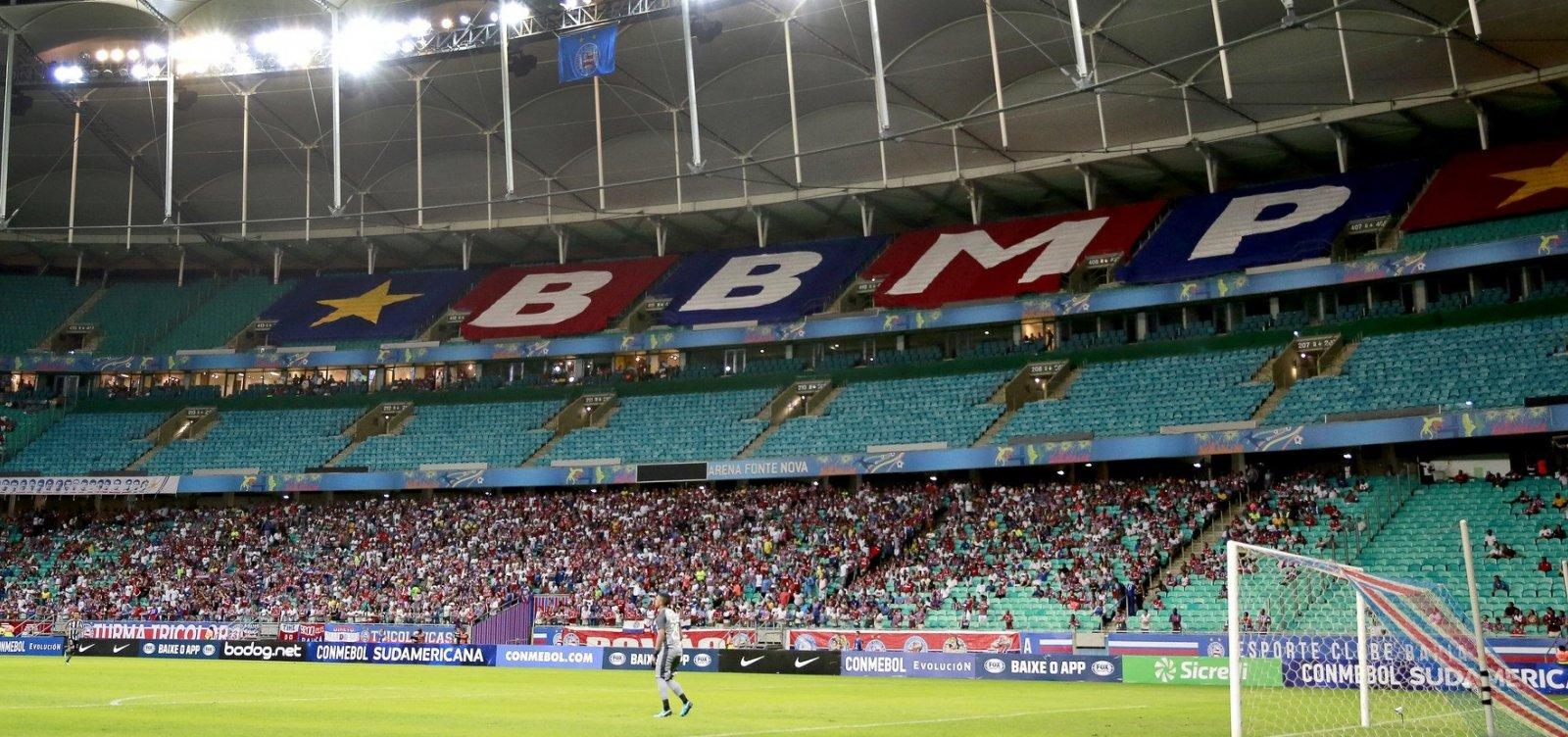 [Duelo entre Bahia e Flamengo já tem 23 mil ingressos garantidos]