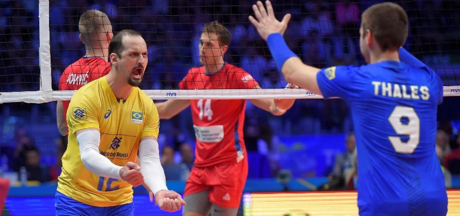 [Brasil vence Sérvia com folga e decide Mundial de vôlei pela quinta vez consecutiva]