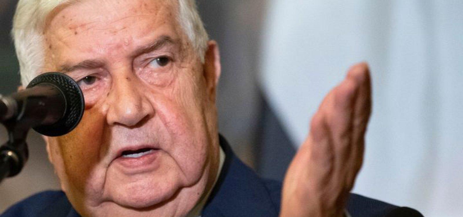 [Na ONU, chefe da diplomacia síria diz que 'batalha contra o terrorismo está quase terminada']