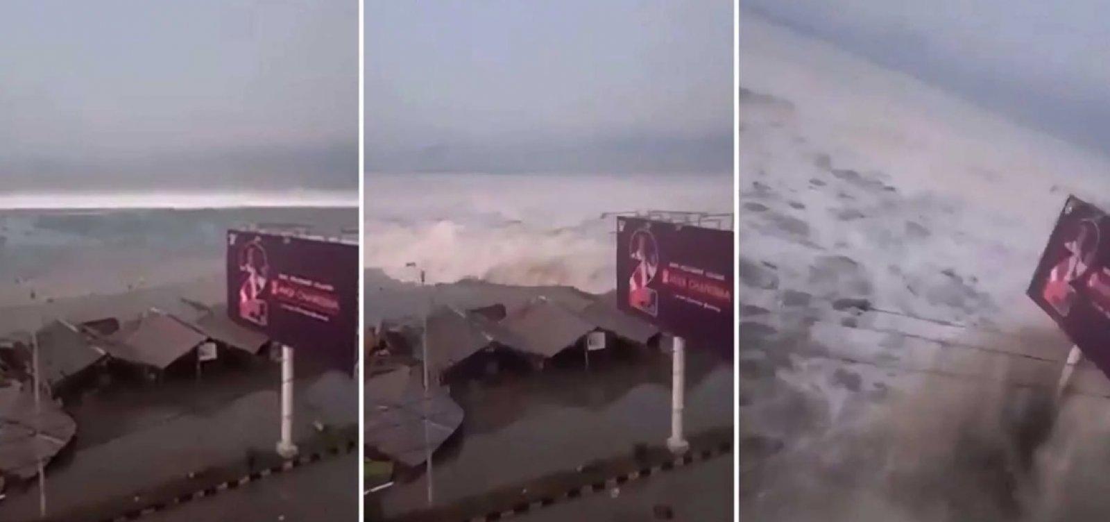 [Terremotos e tsunami já mataram 832 pessoas na Indonésia ]